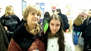 Cu prof, Doina Tudor