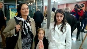 cu prof. Elena Mihaila si fiica sa